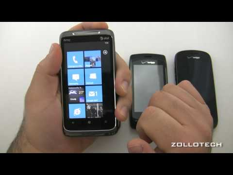iPhone 4, WIndows Phone 7 and Android Texting comparison