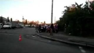 Авария в Житомире. AUDI влетело в BMW
