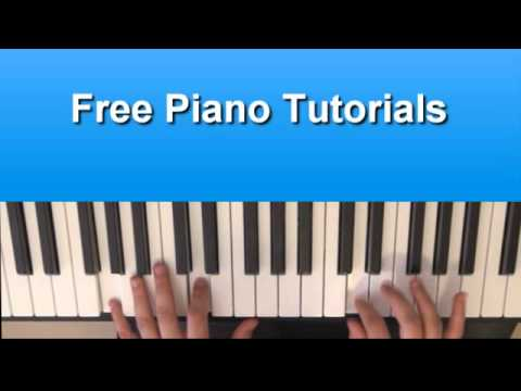 How To Play Electric Chapel - Lady Gaga On Piano Tutorial