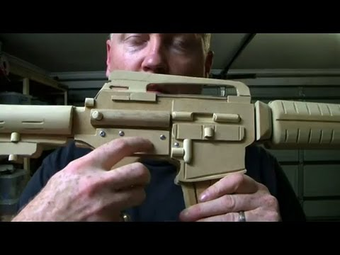 How To Make A Realistic Machine Gun  Prop