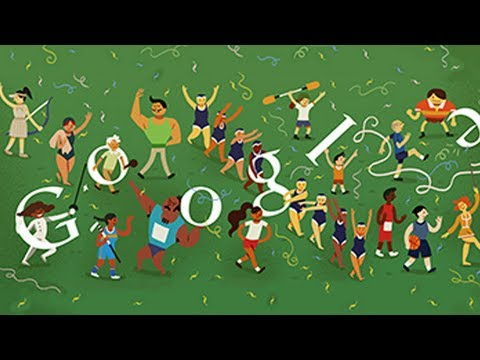 London 2012 Closing Ceremony (Google Doodle)