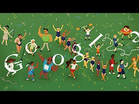 London 2012 Closing Ceremony (Google Doodle)