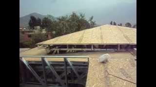 Drywall Lima Perú ¦¦¦¦ Como se instala un techo a 4 aguas.