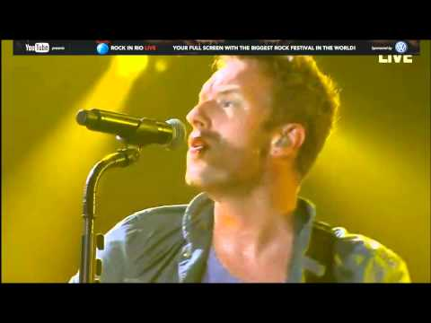 Yellow-Coldplay-Rock In Rio HD
