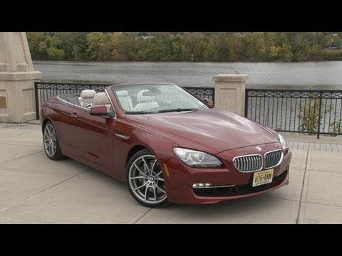 2012 BMW 650i Convertible - Drive Time Review with Steve Hammes