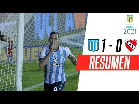Racing ganó el clásico ante Independiente en el final con un polémico penal