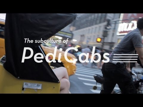 Pedicab Drivers in New York City