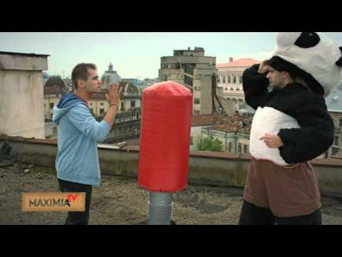 Vodafone- Film cu Panda Karate si DUBLU