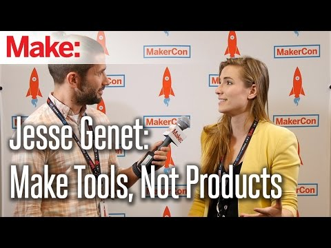 Jesse Genet: Make Tools, Not Products - UChtY6O8Ahw2cz05PS2GhUbg