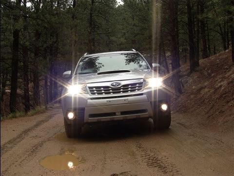 2011 Subaru Forester Raw and Unleashed in the Colorado Mountains