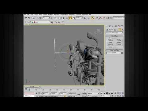 3ds Max Modeling Tips - Using the Conform Space Warp in 3ds Max