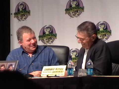 Shatner Nimoy Panel part 1- Dragon*Con 2009