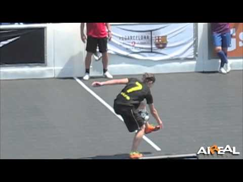 Indi Cowie Soccer Juggler Exhibition @ 2011 Celebrity Soccer Challenge