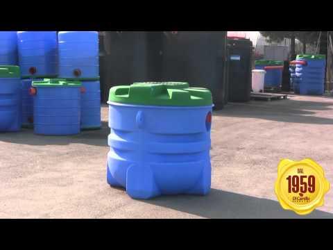 Vasca imhoff - Fossa biologica tipo imhoff per la depurazione dei reflui domestici