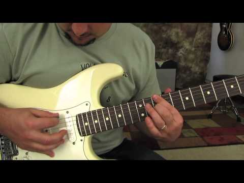 Red Hot Chili Peppers - Scar Tissue - How to play on guitar - tutorial - pt 1 RHCP