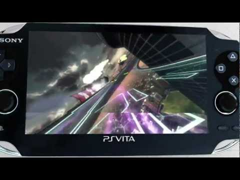 WipEout 2048 - Gamescom 2011 - PlayStation Vita Trailer