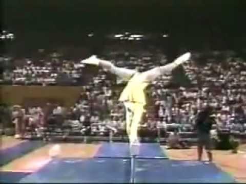 Zwariowany gimnastyk