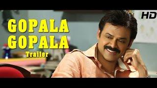 Gopala Gopala Trailer - Venkatesh, Pawan Kalyan