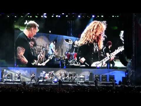 "METALLICA LIVE IN SOFIA 2010 ""THE BIG FOUR"", AM I EVIL,1080p HD"