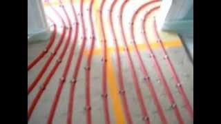 Modèle de chauffage au sol - YouTube