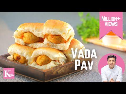 Vada Pao | Kunal Kapur Street Food Recipes | The K Kitchen
