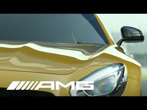 شاهد بالفيديو : مرسيدس AMG GT 2016 الجديدة فى أول استعراض تفحيط