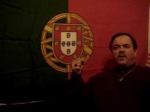 """Luis Salsa canta o """"Hino Dos Emigrantes"""""""
