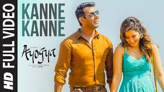Kanne Kanne Full Video Song  Ayogya  Anirudh Ravichander  Vishal, Raashi Khanna  Sam CS