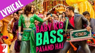 Baby Ko Bass Pasand Hai Full Song with Lyrics from Sultan Movie | Salman Khan | Anushka Sharma