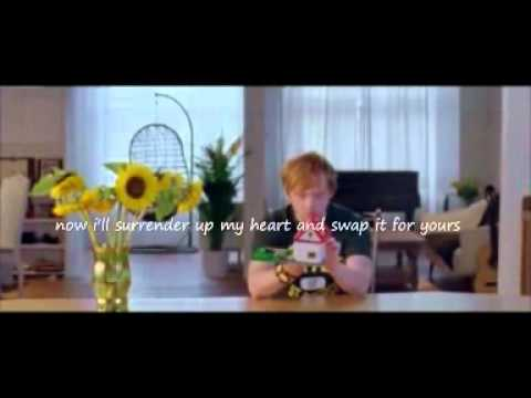 Ed Sheeran - Lego House Lyrics+video