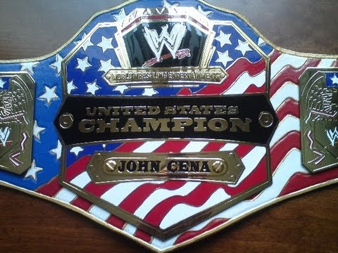 Wwe United States championship belt releather