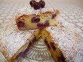 ПИРОГ простой и быстрый рецепт Очень ВКУСНЫЙ пирог с ВИШНЕЙ ПИРОГИ рецепты простые Pie recipe