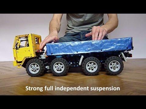 Lego Volvo FL12 8x8 Trial Truck