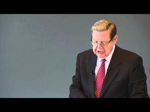 Elder Jeffrey R. Holland Speaks at the Harvard Law School