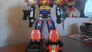 Review Rpm Megazord Set Part 1 Power Rangers Rpm