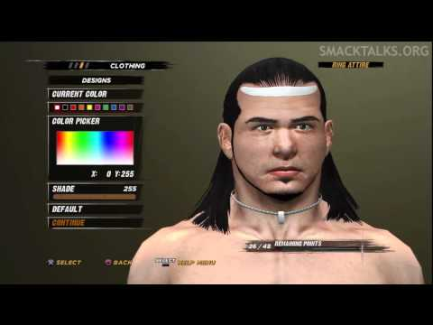 WWE '12 Matt Hardy CAW Formula by Redrandom