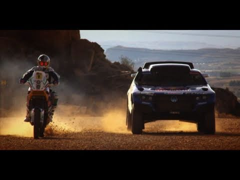 Dakar 2011 preparation in Spain - Red Bull Activation