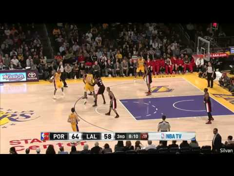 Kobe Bryant 40 Points vs Portland Trail Blazers - Highlights 22/02/2013