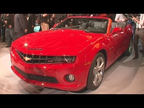 2011 Chevrolet Camaro Convertible - Los Angeles Auto Show