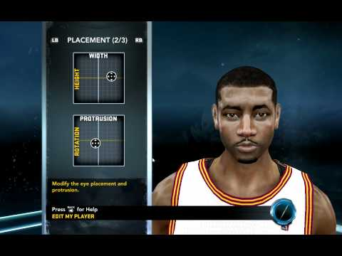 NBA 2k12 how to create kyrie irving -CAf4SfdybT4