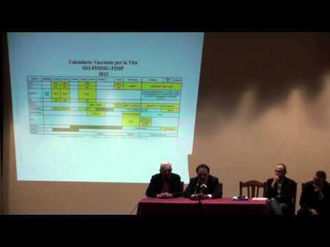 Convegno sulle vaccinazioni pediatriche parte 2/5