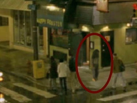 Man walked through a real GHOST caught on tape | scary video 2012