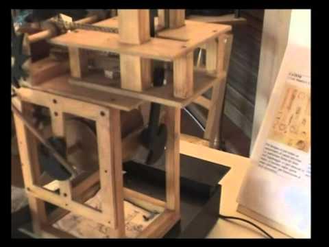 Leonardo Da Vinci - Sega idraulica
