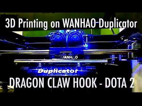 Wanhao Duplicator 3D Printing -