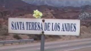 GRUTA SANTA TERESITA DE LOS ANDES EN MENDOZA-KM 1082 .wmv