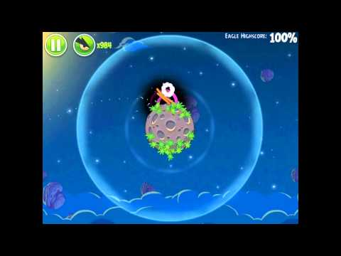 Angry Birds Space Pig Bang 1-1 Space Eagle Walkthrough