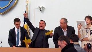 Как мэра Житомира Владимира Дебоя отправляли в отставку
