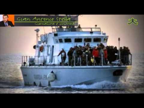 Lampedusa scoppia - Intervista a Gian Antonio Stella - Cadoinpiedi.it