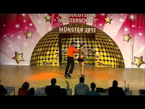 Ayline Spielmann & Philipp Sauter - Norddeutsche Meisterschaft 2013