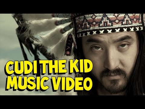 Steve Aoki &quot;Cudi the Kid feat Kid Cudi &amp; Travis Barker&quot; *Official Video*